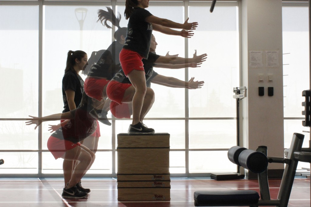 Box Jump Sequence