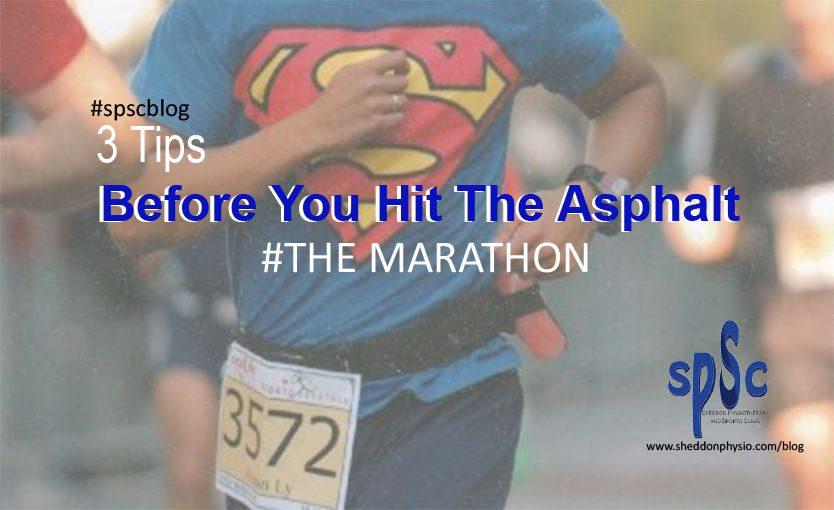 Injury free running Sheddon Physio Sports Clinic Oakville Mississauga