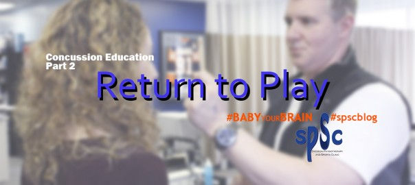 Return to Play Concussion Protocol Sheddon Physio Sports Clinic Oakville Mississauga