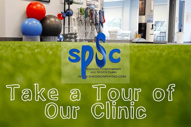 Clinic Tour video Sheddon Physio Sports Clinic Oakville Mississauga