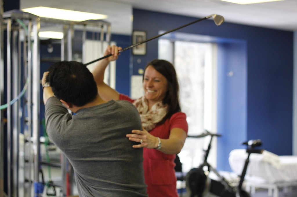 Golf Specific Rehabilitation Services