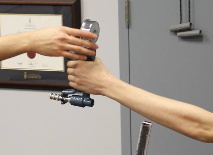 Grip Strength Sheddon Physio Sports Clinic Oakville Mississauga