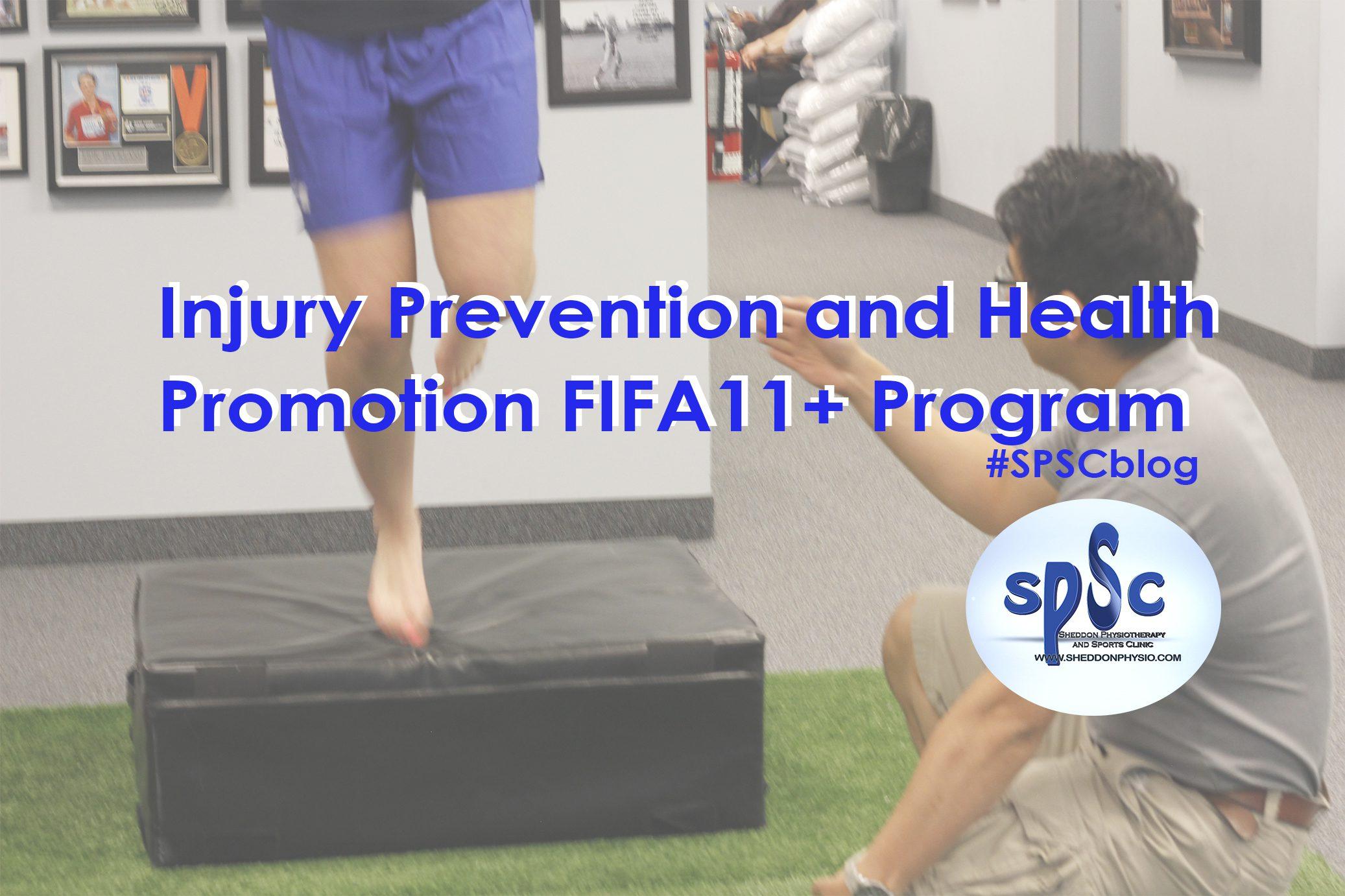 Injury prevention FIFA 11+ 2015 Sheddon Physioyherapy Sports Clinic Oakville Mississauga