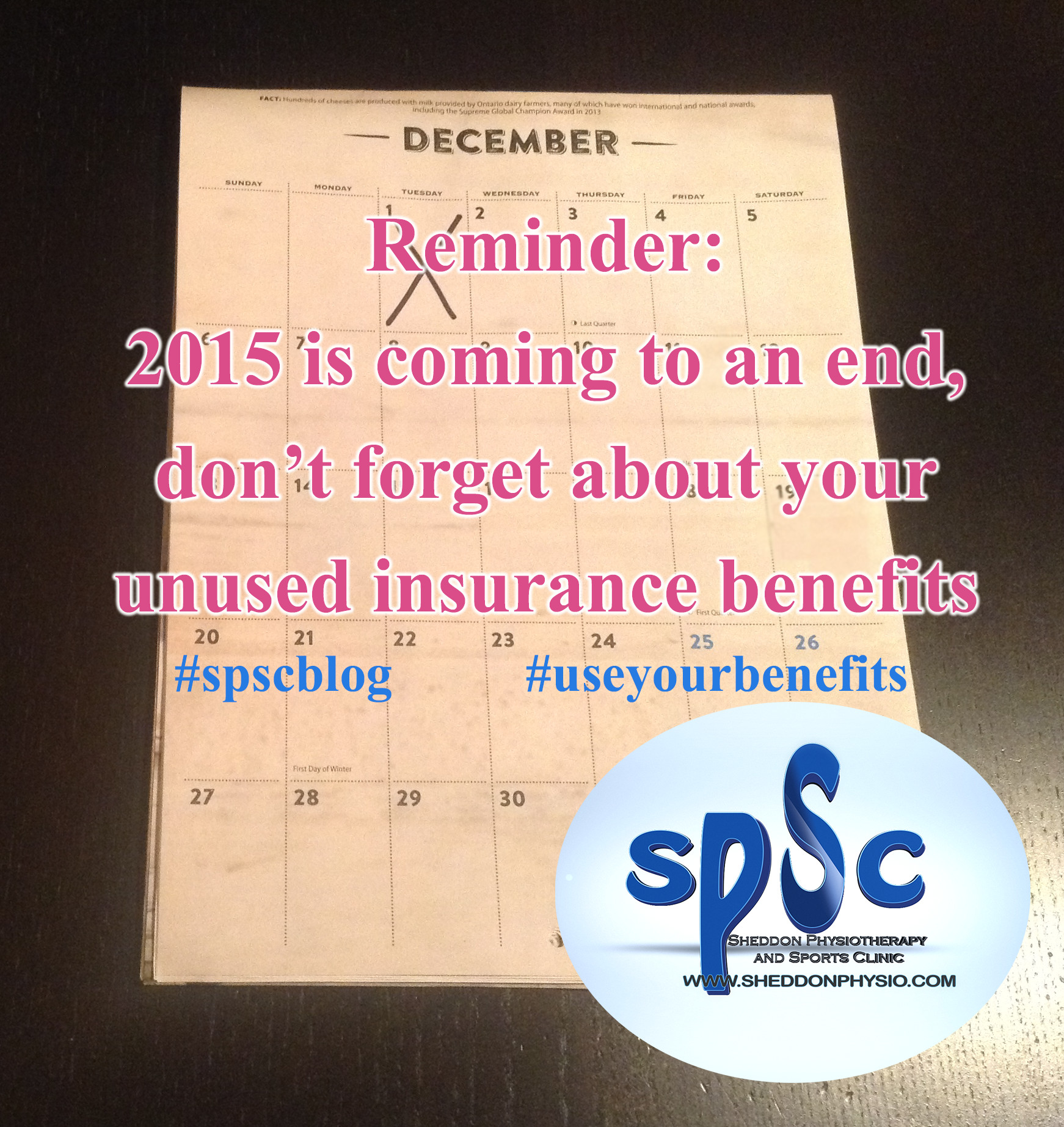 Insurance benefits Sheddon Physio Sports Clinic Oakville Mississauga