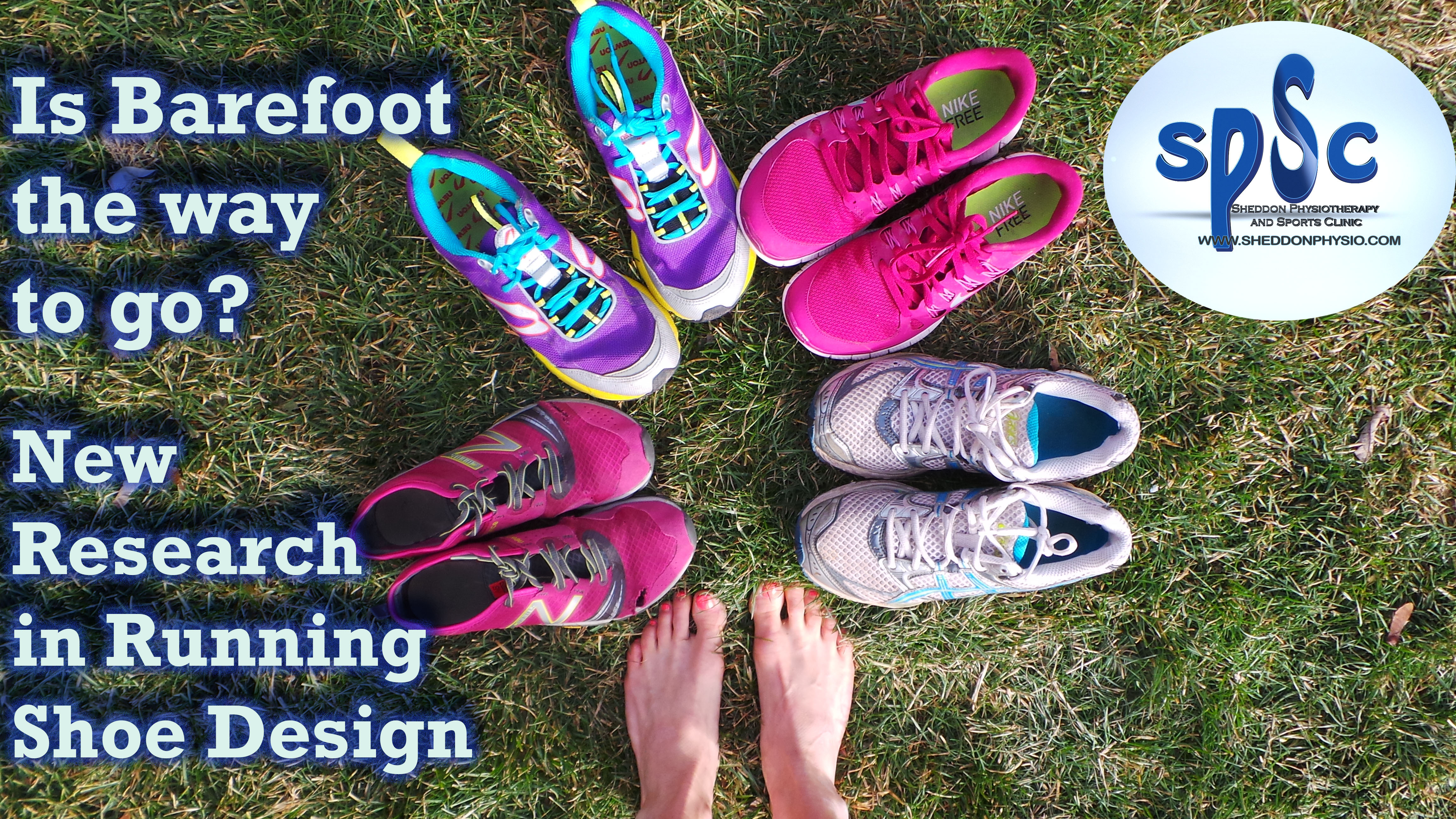 Is Barefoot the way to go? New Research in Running Shoe Design