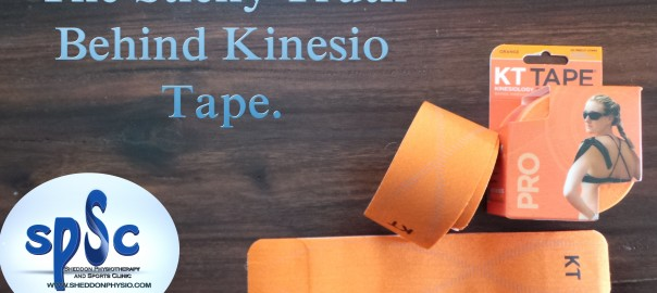 K Tape Kinesio Tape for Sports Injuries - Sheddon Physio Sports Clinic Oakville Mississauga