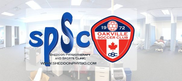 Oakville Soccer Club and Sheddon Physio Sports Clinic Oakville Mississauga