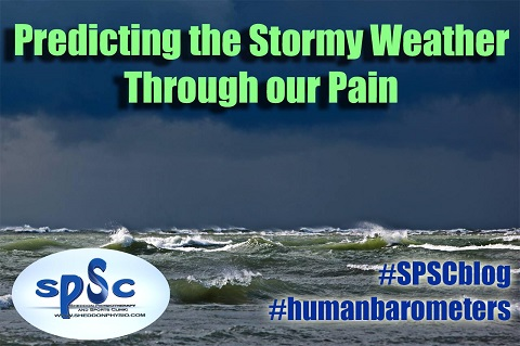 Predicting the Stormy Weather Through our Pain