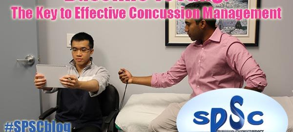 Baseline test concussion Sheddon Physioyherapy Sports Clinic Oakville Mississauga