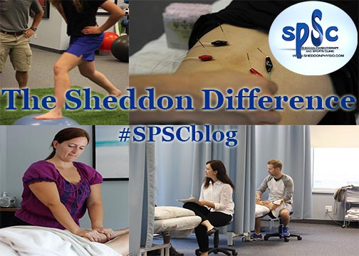 Difference at Sheddon Physio Sports Clinic Oakville Mississauga