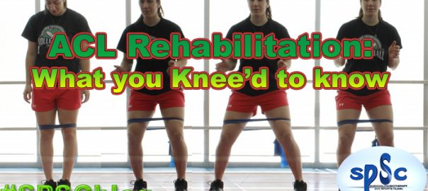 ACL rehab monster walk Sheddon Physio Sports Clinic Oakville Mississauga