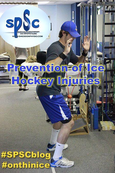 hockey injury recovery Sheddon Physioyherapy Sports Clinic Oakville Mississauga