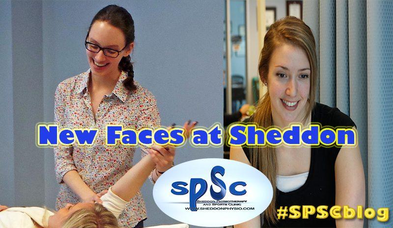 New employees Sheddon Physio Sports Clinic Oakville Mississauga