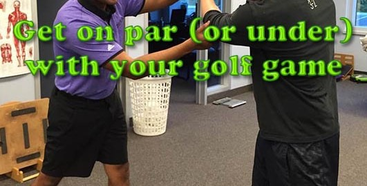 Golf Physiotherapy Robin at Sheddon Physio Sports Clinic Oakville Mississauga