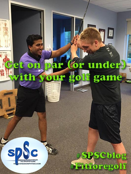 Get on par (or under) with your golf game!