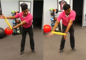 Golf Physio Swing at Sheddon Physio Sports Clinic Oakville Mississauga