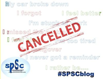 Cancellations at Sheddon Physio Sports Clinic Oakville Mississauga