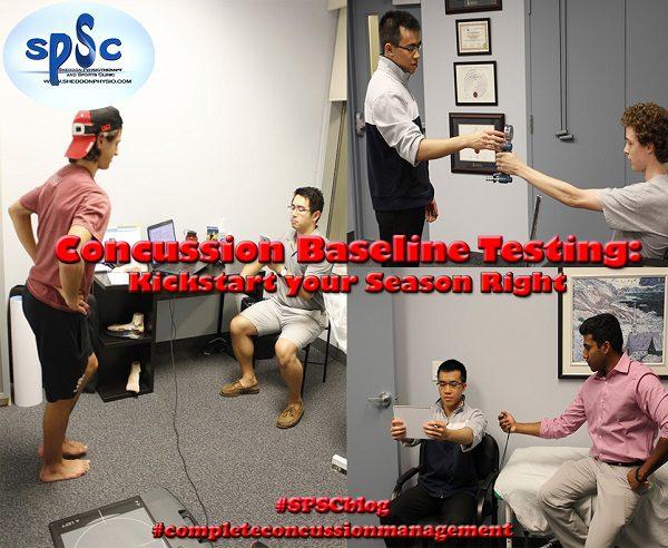 Concussion Baseline Testing Sheddon Physio Sports Clinic Oakville Mississauga