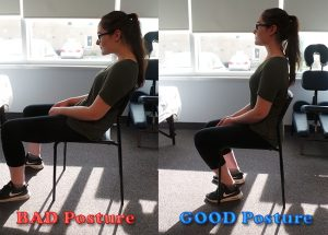 Sitting Back Posture Sheddon Physio Sports Clinic Oakville Mississauga