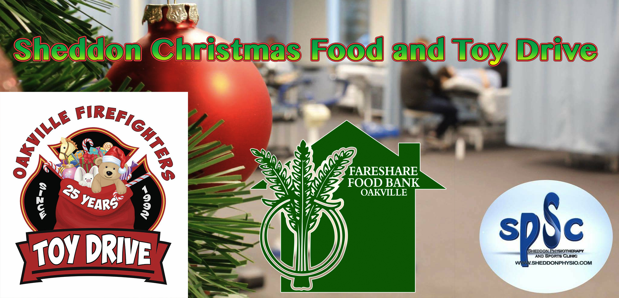 Sheddon Christmas Food and Toy Drive