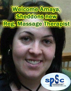 Amaya Iribarren massage therapy Sheddon Sports Clinic Oakville