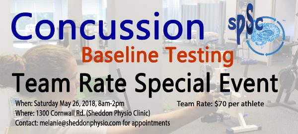concussion management baseline test Oakville Mississauga 5