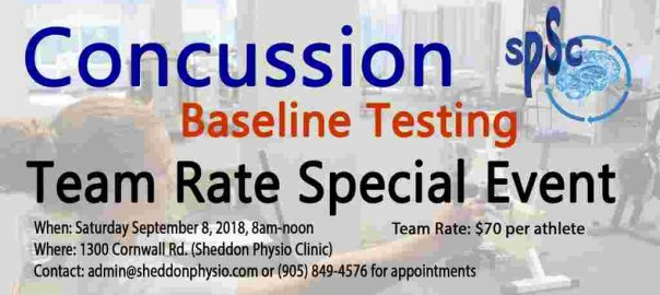 concussion management baseline test Oakville Mississauga 6