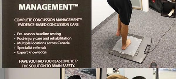 concussion management clinic Oakville Mississauga