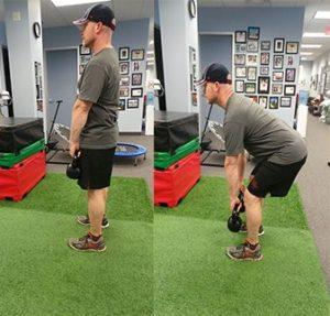 Deadlift for hamstring injury prevention Sheddon Physio Sports Clinic Oakville Mississauga