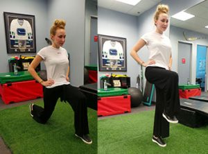 goblet squat exercise soccer injury prevention Sheddon Physio Sports Clinic Oakville Mississauga