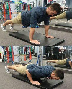 push ups exercise soccer injury prevention Sheddon Physio Sports Clinic Oakville Mississauga