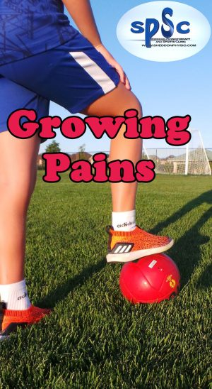 What are teenagers Growing Pains?