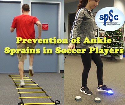 Ankle Sprains Injury Prevention Soccer Players
