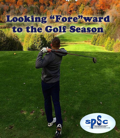 """Looking """"Fore""""ward to the Golf Season"""